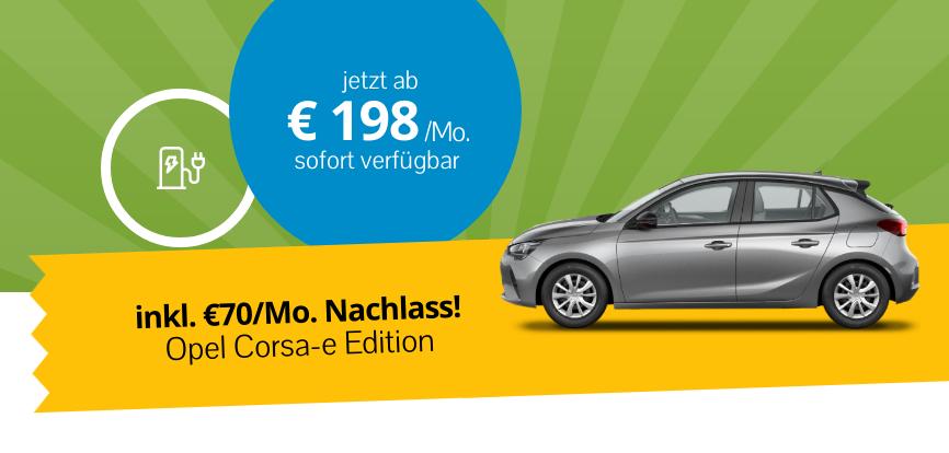 Neuwagen leasing Opel Corsa-e Edition